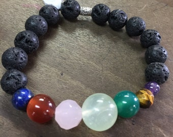 Chakra Bracelet 7 Chakra Beads