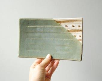 Vintage Tray, Ceramic Tray, Small Tray, Jewelry Tray