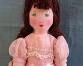 """Clarissa, An Edith Flack Ackley Pattern Doll, Only 9"""""""