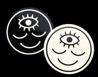 Woke Third Eye Sticker