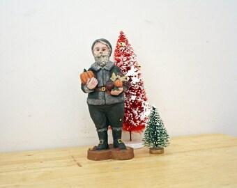 Vintage Sarah's Attic November Harvest Santa of the Month 1988