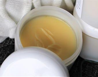Baume hydratant au beurre de karité, olive, son de riz et soie, 100% naturel
