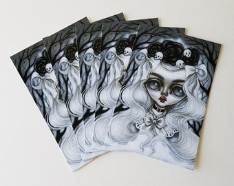Pack of 5 Postcards-Morgana