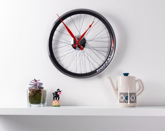 Racing Bike wheel clock 17 inch diameter