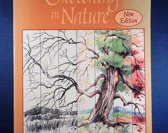 Cathy Johnson Sierra Club Guide to Sketching in Nature Drawing & Painting Workbook - Used Book