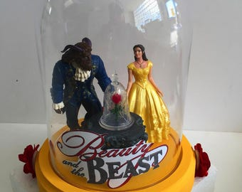 1 Beauty and the Beast centerpieces