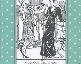 Glamour Girl Dress, Folkwear Pattern 233
