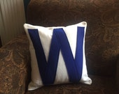 Chicago Cubs World Series Champions 16x16 pillow cover