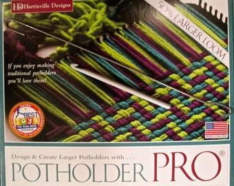 Potholder PRO Loom & Cotton Lotta Loops Refills Fun Weaving Kit Harrisville SUPER FAST Shipping!