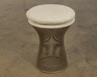Warren Platner Wire Frame Stool for Knoll