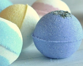 Bath Bombs - 3 for 10 - Essential Oil Bath Bombs - You Choose Scents