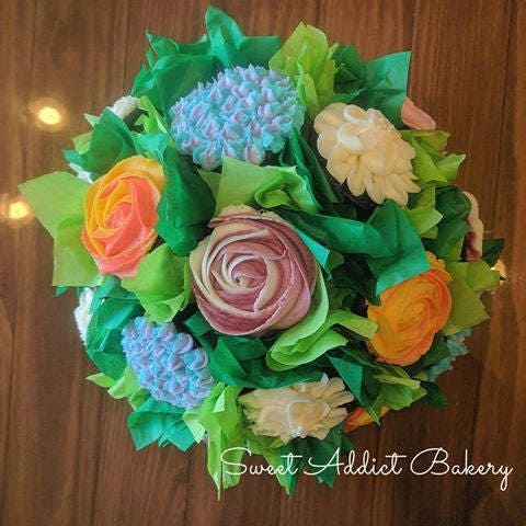 Cupcake bouquet colorado springs locals only cannot be shipped cupcake bouquet colorado springs locals only cannot be shipped beautiful flower cupcake bouquet easter mothers day graduation gifts negle Gallery