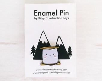 Happy S'more Enamel Pin