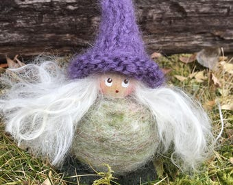 Swedish Tomte Lady, gnome, protector of the home, farm and family.