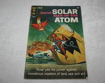 Vintage Doctor Solar Man Of The Atom Comic Book July 1968 Sci Fi Fantasy