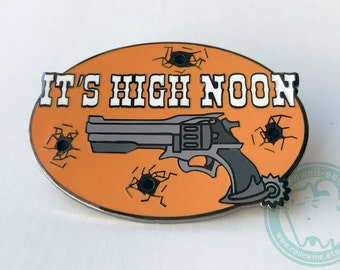 "Overwatch McCree Inspired 2"" Hard Enamel Pin"