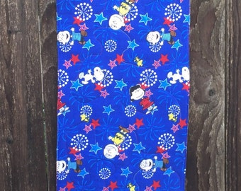 """Table Runner - Snoopy Red, White And Blue 12"""" x 38"""""""