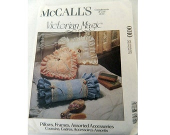 McCall's Pattern 0010 - Vintage Victorian Accessory Pattern - Uncut