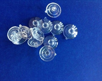 Twelve Small Suction Cups