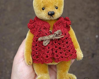 Ador Abelle, OOAK Mohair Artist Teddy Bear  from Aerlinn Bears