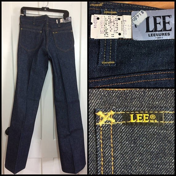 deadstock Lee Leesures bell bottoms jeans nos nwt