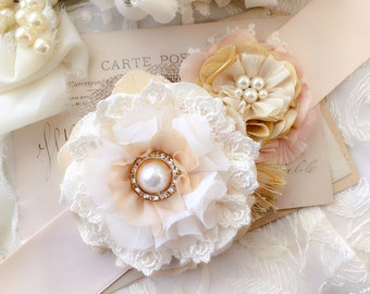 Wedding Sash, Bridal Belt, Floral Bridal Sash, Rustic Wedding, Bridal Dress Belt, Pearl Wedding Gown Belt, Blush Pink Sash, Flower Sash