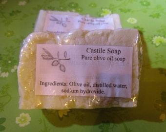 Pure Olive Oil Soap Castile Unscented