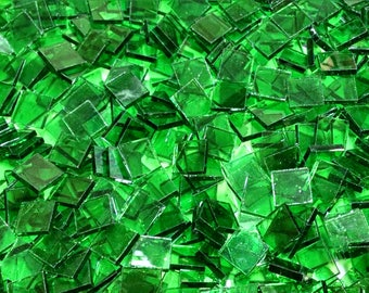 Light Green Stained Glass Mosaic Tiles