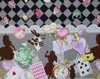 "2017 Classical Modern Alice in Wonderland Tea party Lolita   50cm or  19"" length bu 110cm or 42"" wideth"