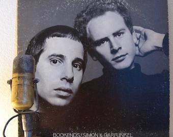 "ON SALE Simon & Garfunkel Vinyl Record LP 1960s Folk Pop Record Album Easy Listening ""Bookends""(1980s Columbia re-issue - no poster)"
