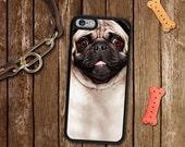 Pug Dog iPhone 6/6S/Plus Case - iPhone 7 Case, iPhone 7 Plus Case, iPhone 6/6S Case, iPhone 5/5S/5C Case