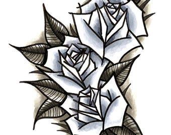 Angular Roses ORIGINAL