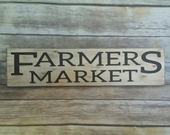 Farmers Market Sign, Farmers Market, kitchen sign, market, fixer upper, farmhouse, farmhouse sign, fixer upper style, farmhouse decor