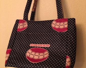 Beth #1779,  Knitting Bag,Knitting Tote, Project Tote, Project Bag, Knitting Project Bag, Crochet and Knit Bag, Purses, Shoulder Bag, Bags