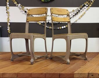 RESERVE for Jess; Elementary School Chairs; Old School Chairs; Student Chairs; Kids Chair; Student Chair; Joanna Gaines; Fixer Upper; Chairs