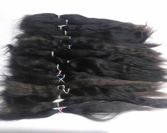 Blythe / BJD / MSD / Combed Doll Hair / Re root / Combed Suri Alpaca / Wig / Minifee / Doll Supplies  (2149)