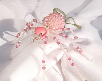 Christmas Spider Ornaments Folk Art Legend of Tinsel and Garland