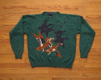 vintage Gant pictorial sweater