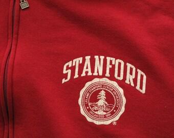 vintage Russel Athletic Stanford hooded sweatshirt