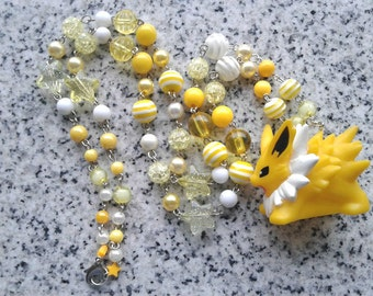 Pokémon Necklace - JOLTEON - BANDAI Figure Necklace - Pokmon GO