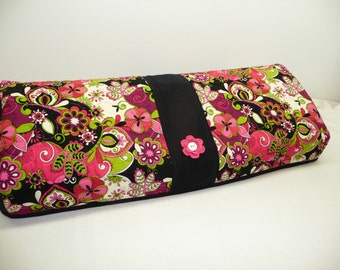 Silhouette Cameo 3 Cover - Groovy Blooms  - Quilted Cameo 3 Cozy