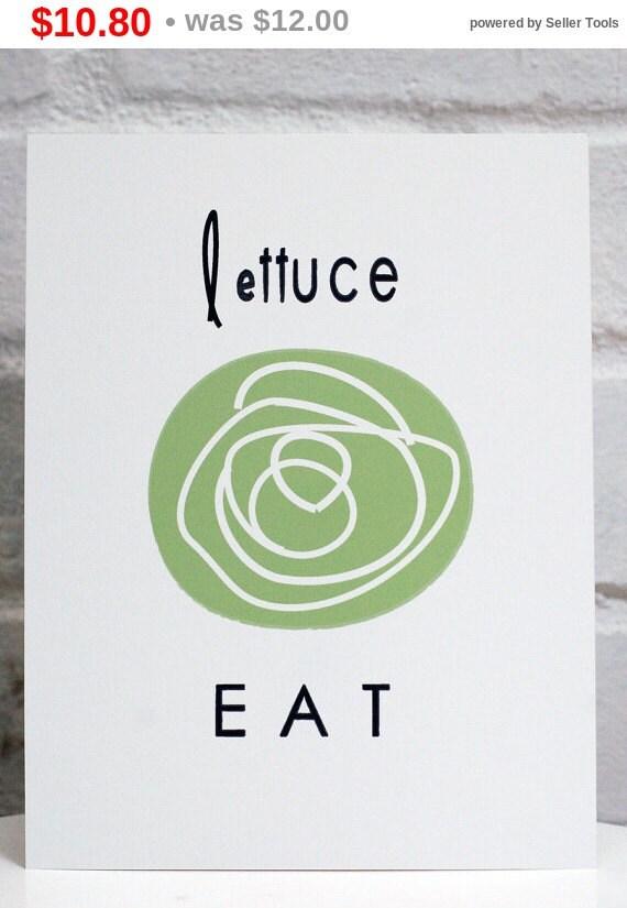 Holiday Sale Lettuce EAT