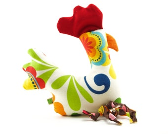 Dog Toy Big Chicken Extra Durable 'DOUBLE FABRIC LAYER Construction'