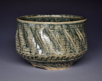 Stoneware Pottery Tea Bowl Ceramic Chawan A