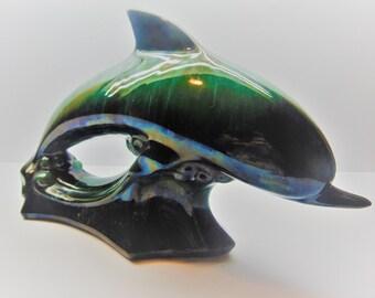 Vintage Blue Mountain Pottery Dolphin