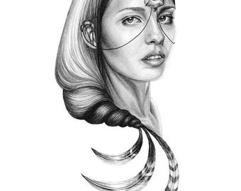 "Achiyalabopa /// 11x14"" Giclee Print"
