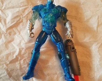 Vintage Kenner DC Comics Mr Freeze Action Figure with Accessories 1990s Comics