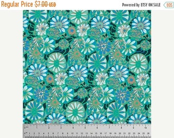 On Sale Daisy Shine in Dew Fabric from the True Colors Collection by Amy Butler - 1 Yard