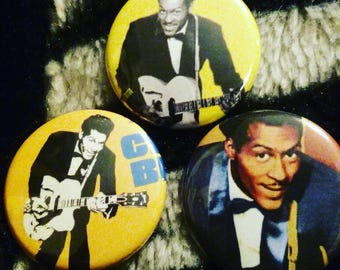Chuck Berry forever pin set