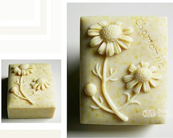 Soap Republic Chamomile Silicone Soap Mold